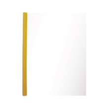 รูปภาพของ แฟ้มสันรูด ออร์ก้า 312 5 มิลลิเมตร สีเหลืองทึบ (แพ็ค 12 เล่ม)