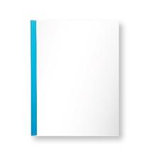 รูปภาพของ แฟ้มสันรูด ออร์ก้า 102 5 มิลลิเมตร สีน้ำเงินใส (แพ็ค 12 เล่ม)