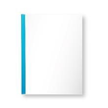 รูปภาพของ แฟ้มสันรูด ออร์ก้า 102 10 มิลลิเมตร สีน้ำเงินใส (แพ็ค 12 เล่ม)