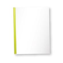 รูปภาพของ แฟ้มสันรูด ออร์ก้า 105 10 มิลลิเมตร สีเหลืองใส (แพ็ค 12 เล่ม)