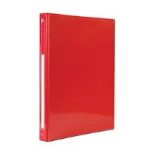 รูปภาพของ แฟ้ม 2 ห่วง ออร์ก้า ปกพีวีซี ขนาด A4 สีแดง ห่วงรูปตัวD 1นิ้ว
