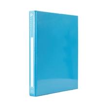 รูปภาพของ แฟ้ม 2 ห่วง ออร์ก้า ปกพีวีซี ขนาด A4 สีฟ้า ห่วงรูปตัวD 1นิ้ว
