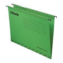 รูปภาพของ แฟ้มแขวน ESSELTE 925 A4 สีเขียว (แพ็ค 10เล่ม)