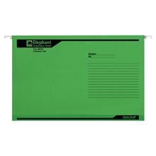 รูปภาพของ แฟ้มแขวน ตราช้าง 900 F4 สีเขียว (แพ็ค 10 เล่ม)