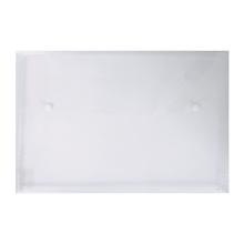 รูปภาพของ ซองกระดุมพลาสติก ออร์ก้า B-154 F4 แนวนอน ขยายข้าง สีขาว (แพ็ค12เล่ม)