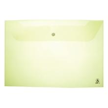 รูปภาพของ ซองกระดุมพลาสติก ออร์ก้า A-120 A4 แนวนอน สีเขียว (แพ็ค 12 เล่ม)