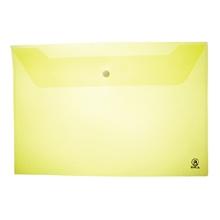รูปภาพของ ซองกระดุมพลาสติก ออร์ก้า A-120 A4 แนวนอน สีเหลือง (แพ็ค 12 เล่ม)