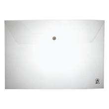รูปภาพของ ซองกระดุมพลาสติก ออร์ก้า A-120 A4 แนวนอน สีขาว (แพ็ค 12 เล่ม)