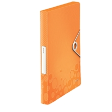 รูปภาพของ แฟ้มกล่องเก็บเอกสาร LEITZ รุ่น NEXXT SERIES WOW สัน 3 ซม. สีส้ม