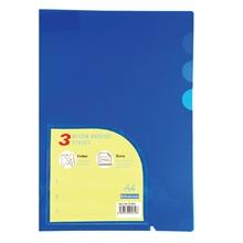รูปภาพของ แฟ้มซอง ไบน์เดอร์แม็กซ์ 01049 A4 3 ช่อง สีน้ำเงิน