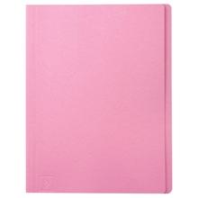 รูปภาพของ แฟ้มพับ ใบโพธิ์ 230 แกรม A4 สีชมพู (แพ็ค 100 เล่ม)