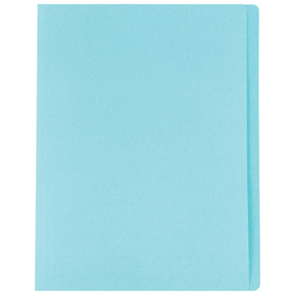 รูปภาพของ แฟ้มพับ ใบโพธิ์ 230 แกรม A4 สีฟ้า (แพ็ค 100 เล่ม)