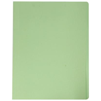 รูปภาพของ แฟ้มพับ ใบโพธิ์ 230 แกรม F4 สีเขียว (แพ็ค 100 เล่ม)