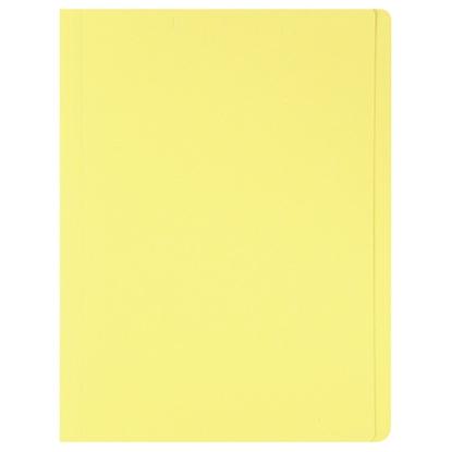 รูปภาพของ แฟ้มพับ ใบโพธิ์ 230 แกรม F4 สีเหลือง (แพ็ค 100 เล่ม)