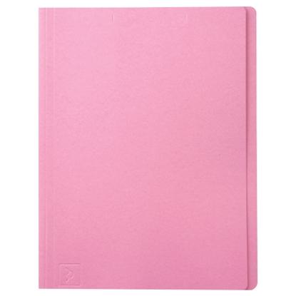 รูปภาพของ แฟ้มพับ ใบโพธิ์ 230 แกรม F4 สีชมพู (แพ็ค 100 เล่ม)