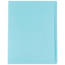 รูปภาพของ แฟ้มพับ ใบโพธิ์ 230 แกรม F4 สีฟ้า (แพ็ค 100 เล่ม)