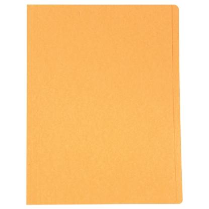 รูปภาพของ แฟ้มพับ ใบโพธิ์ 230 แกรม F4 สีส้ม (แพ็ค 100 เล่ม)