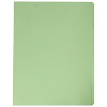 รูปภาพของ แฟ้มพับ ใบโพธิ์ 300 แกรม F4 สีเขียว (แพ็ค 50 เล่ม)