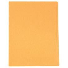 รูปภาพของ แฟ้มพับ ใบโพธิ์ 300 แกรม F4 สีส้ม (แพ็ค 50 เล่ม)