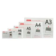 รูปภาพของ ซองเอกสารพลาสติกแข็ง ออร์ก้า PVC สีใส ขนาด B5