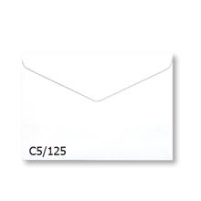 รูปภาพของ ซองขาว C5/125 100 แกรม 162x229 มม. ฝาแหลม (แพ็ค50 ซอง)