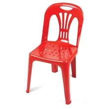 รูปภาพของ เก้าอี้พลาสติกอเนกประสงค์ APEX รุ่น หยก (เกรด A) สีแดง