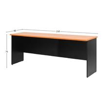 รูปภาพของ โต๊ะประชุมไม้ MONO CF 210 เชอรี่/ดำ