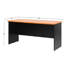 รูปภาพของ โต๊ะประชุมไม้ MONO CF 140 เชอรี่/ดำ