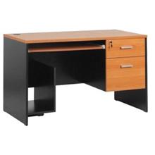 รูปภาพของ โต๊ะคอมพิวเตอร์ไม้ MONO TWC 1202/BCเชอรี่/ดำ