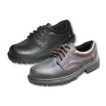 รูปภาพของ รองเท้านิรภัยหุ้มส้น STUTTGART รุ่น SF-204 Size 7 สีดำ พื้นยาง ผูกเชือก