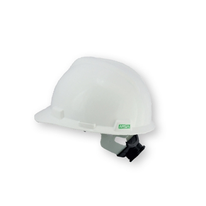 รูปภาพของ หมวกนิรภัย MSA V-GARD ANSI ปรับหมุน สีขาว
