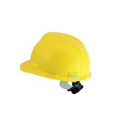 รูปภาพของ หมวกนิรภัย MSA V-GARD ANSI ปรับหมุน สีเหลือง