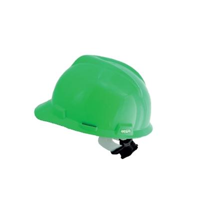 รูปภาพของ หมวกนิรภัย MSA V-GARD ANSI ปรับเลื่อน สีเหลือง