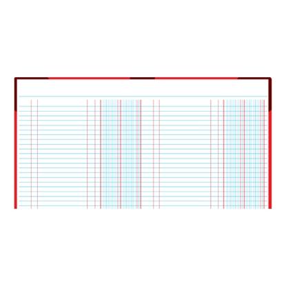 รูปภาพของ สมุดบัญชี 2 ช่องเดี่ยว 5/100 210x330มม. ปกคละสี (100 แผ่น)