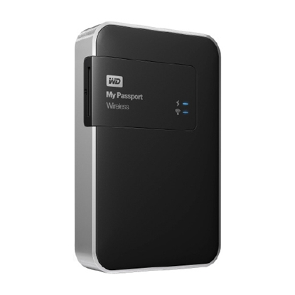 "รูปภาพของ WD MY PASSPORT WIRELESS 2.5"" 1TB BLACK (WTD-WDBK8Z0010BBK)"