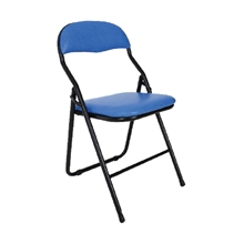 รูปภาพของ เก้าอี้พับเอนกประสงค์ APEX C-32 หนังเทียม สีน้ำเงิน