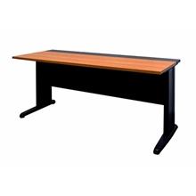รูปภาพของ โต๊ะทำงาน MONO JKS-1500-60 เชอรี่/ดำ