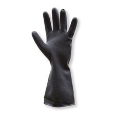 รูปภาพของ ถุงมือยางธรรมชาติ KRATING AMS-3861D112-202 ยาว 12 นิ้ว สีดำ ขนาดกลาง