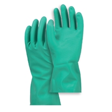 รูปภาพของ ถุงมือยางไนไตรล์ Microtex ยาว 13 นิ้ว สีเขียว ขนาดใหญ่