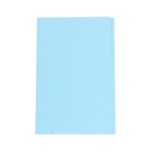 """รูปภาพของ แฟ้มพับ ใบโพธิ์ 9x14"""" F4 สีฟ้า"""
