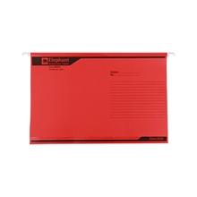 รูปภาพของ แฟ้มแขวน ตราช้าง 925 F4 สีแดง(แพ็ค 10 เล่ม)