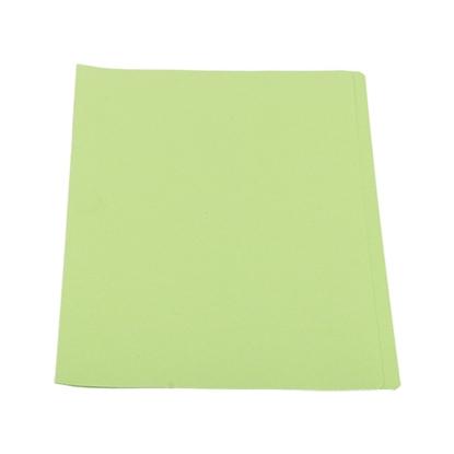 รูปภาพของ แฟ้มพับ ใบโพธิ์ 9×12 นิ้ว A4 สีเขียว (แพ็ค 50 เล่ม)