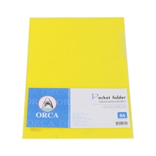 รูปภาพของ แฟ้มซอง ออร์ก้า A4 สีเหลือง (แพ็ค 12 เล่ม)