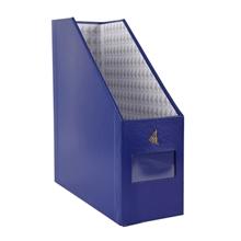 รูปภาพของ กล่องเอกสารแลคซีน วินด์เซิฟ 1 ช่อง BF-04 สีน้ำเงินสด