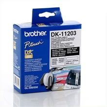 รูปภาพของ เทปพิมพ์ฉลาก Brother DK-11203 17x 87 มม. (300ป้าย/ม้วน)
