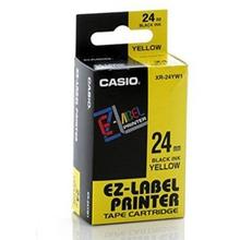 รูปภาพของ เทปพิมพ์อักษร CASIO XR-24YW1 24 มม. ดำพื้นเหลือง