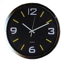 รูปภาพของ นาฬิกาแขวนผนัง 14 นิ้ว รุ่น 4006 สีดำ