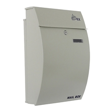 รูปภาพของ ตู้จดหมาย APEX รุ่น AX-0072 ขนาด 32x15x48 ซม. สีครีม