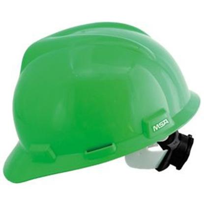 รูปภาพของ หมวกนิรภัย MSA V-GARD ANSI ปรับเลื่อน สีเขียว