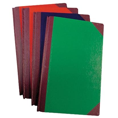 รูปภาพของ สมุดบัญชี 5 ช่องเดี่ยว 5/100 210x330มม. ปกคละสี (100 แผ่น)